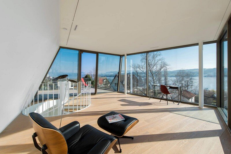 Exclusive Family House with Striking Exterior and Breathtaking Views Across Lake Zurich (16)