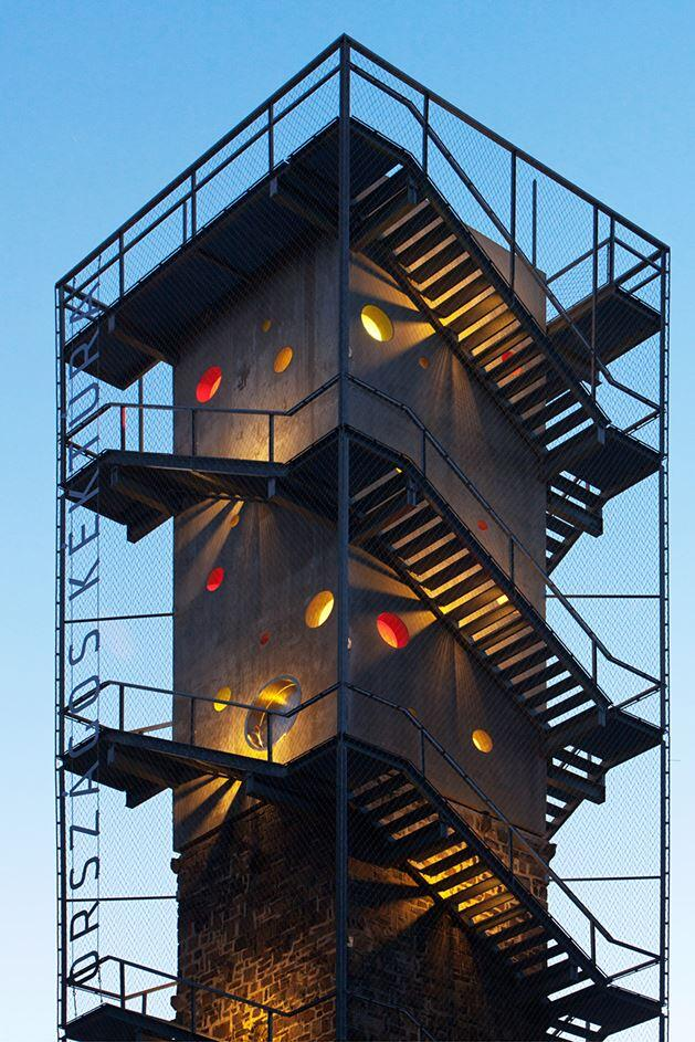 Galyateto Lookout Tower in Matra Mountains, Hungary (1)