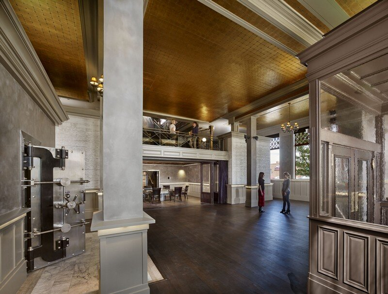 Historic Bank Building Converted into Modern Office Space (6)