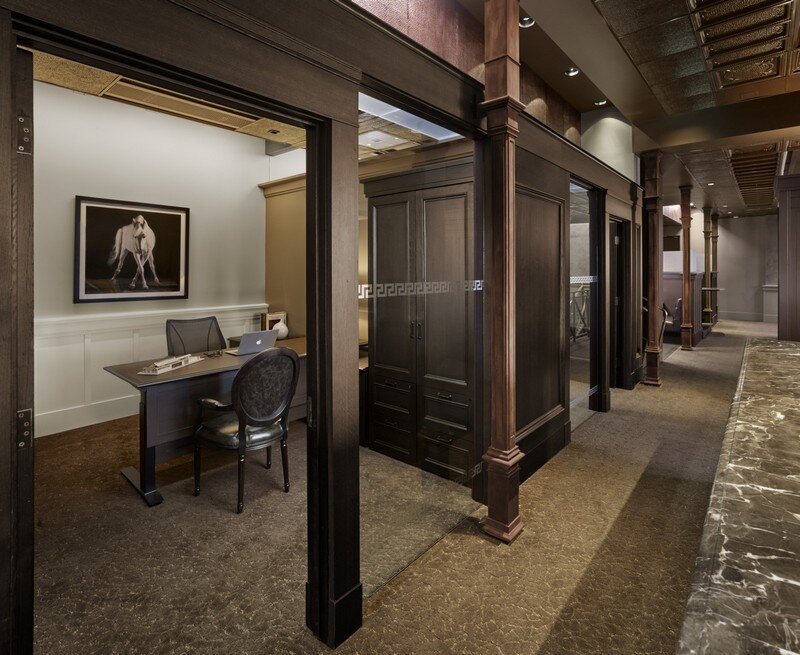 Historic Bank Building Converted into Modern Office Space (7)