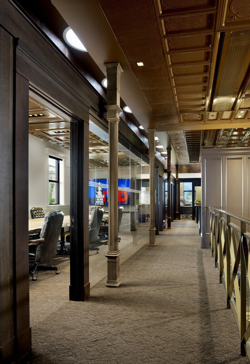 Historic Bank Building Converted into Modern Office Space (8)