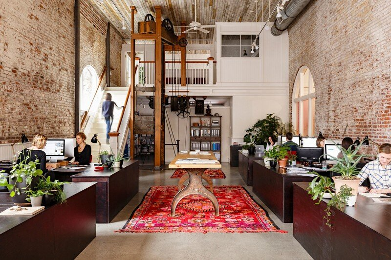Historic Railway Building Transformed into Office by Jessica Helgerson 1