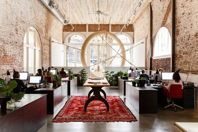 Historic Railway Building Transformed into Office by Jessica Helgerson 2