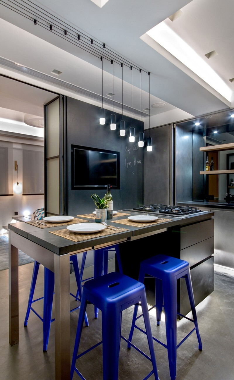 Hong Kong Cramped Flat Converted in a Eco High Tech Rooftop Retreat 2