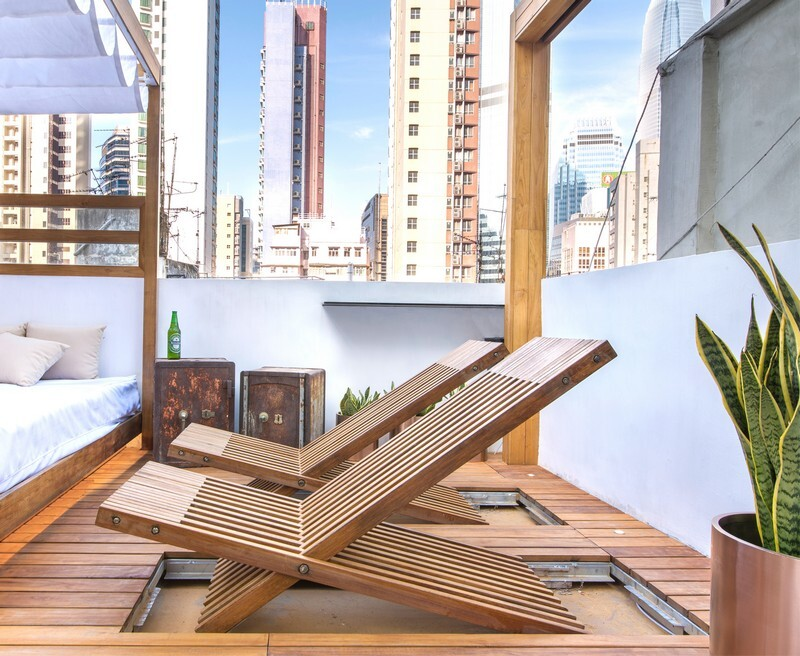 Hong Kong Cramped Flat Converted in a Eco High Tech Rooftop Retreat 12