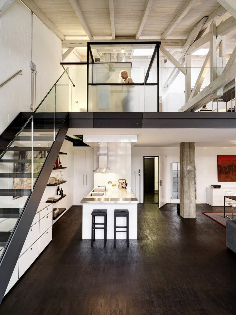 Industrial Apartment in Zurich by Daniele Claudio Taddei Architect (6)