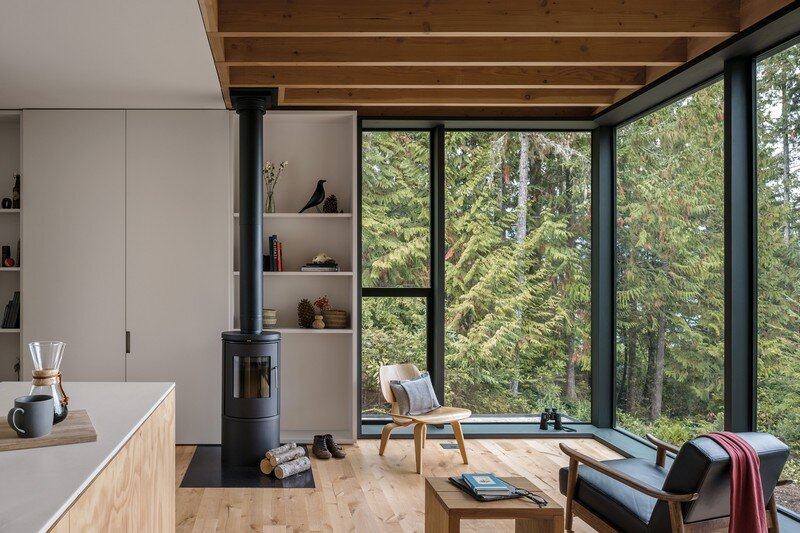 Little House Wrapped in Blackened Timber - MW Works (3)