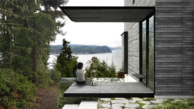 Little House Wrapped in Blackened Timber - MW Works (8)