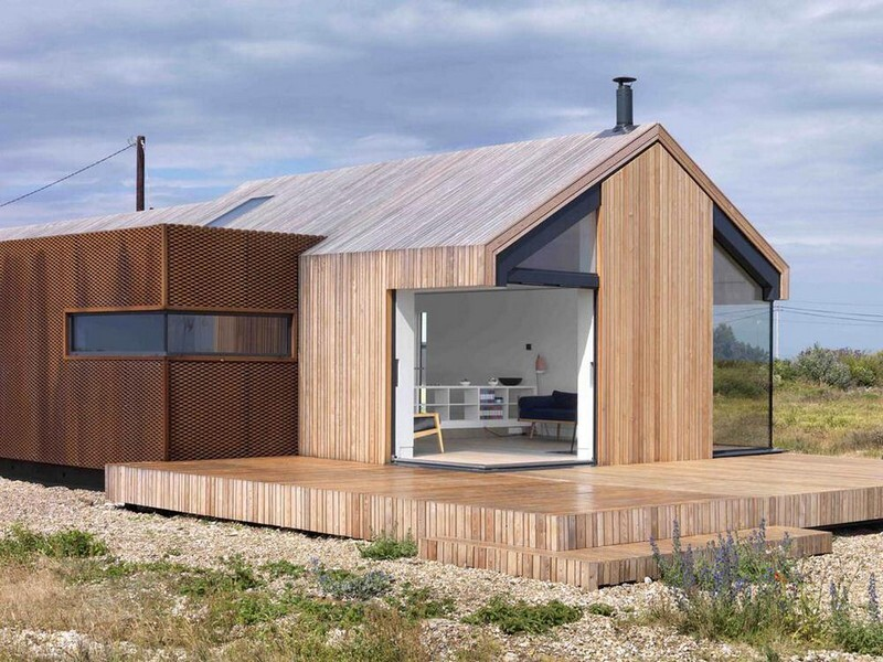 Pobble House - Contemporary Cottage Decorated in Minimalist Style (1)