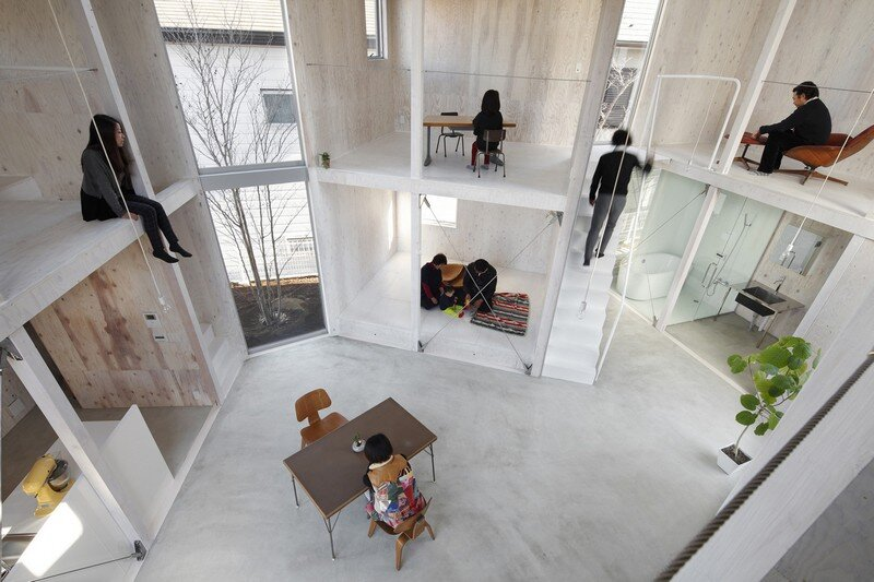 Unfinished House by Yamazaki Kentaro Design Workshop (2)