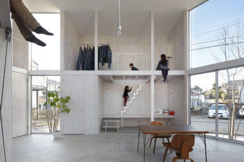 Unfinished House by Yamazaki Kentaro Design Workshop (6)
