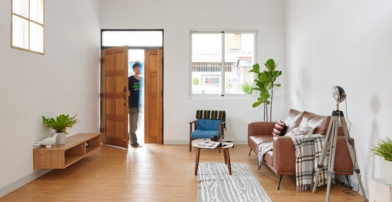 Airy Home in Taiwan with Optimal Balance Between Space and Lighting (1)