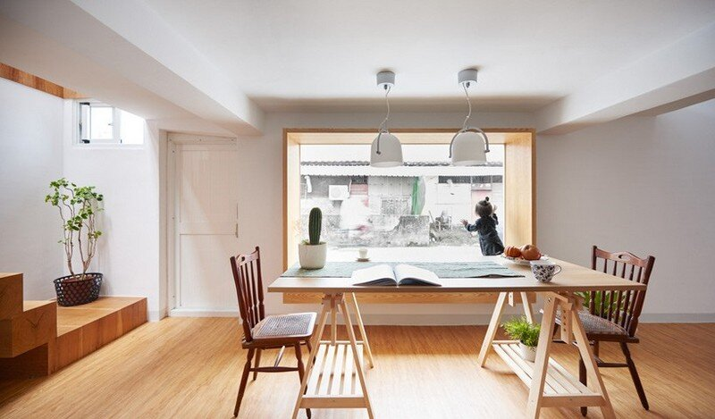 Airy Home in Taiwan with Optimal Balance Between Space and Lighting (22)