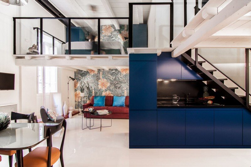 Cobalt Apartment by Mauro and Matteo Soddu Italy (1)