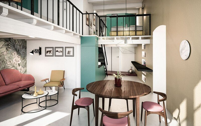 Cobalt Apartment by Mauro and Matteo Soddu Italy (10)