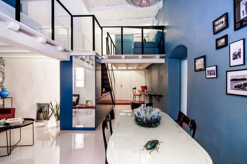 Cobalt Apartment by Mauro and Matteo Soddu Italy (14)