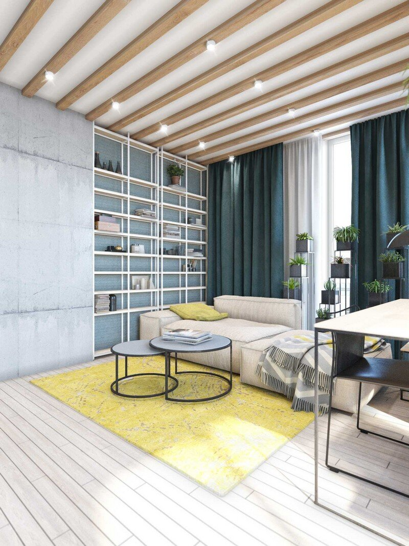 Contemporary Eco-Design by Cult of Design Apartment in Kyiv (1)