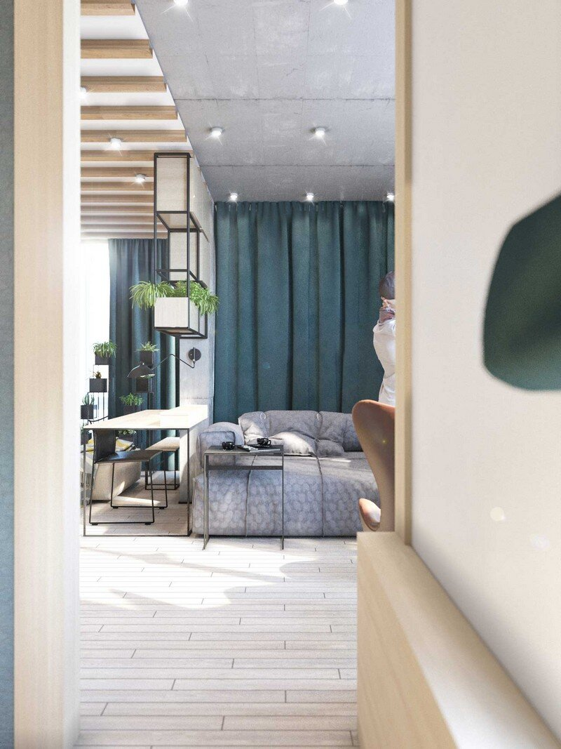 Contemporary Eco-Design by Cult of Design Apartment in Kyiv (2)