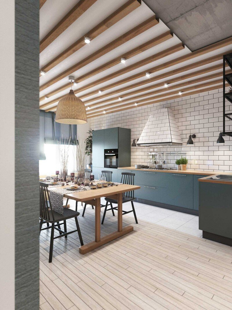 Contemporary Eco-Design by Cult of Design Apartment in Kyiv (20)