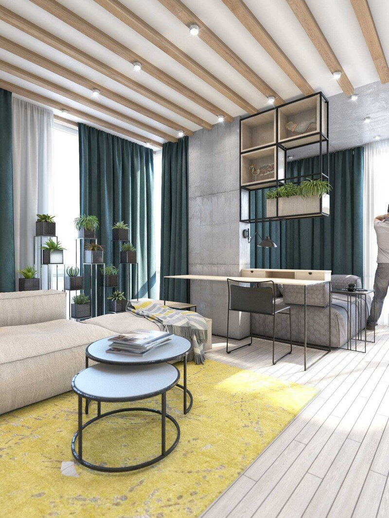 Contemporary Eco-Design by Cult of Design Apartment in Kyiv (22)