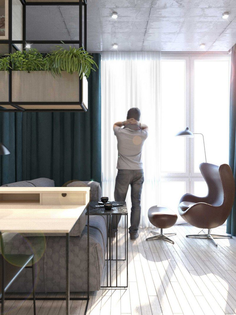Contemporary Eco-Design by Cult of Design Apartment in Kyiv (3)