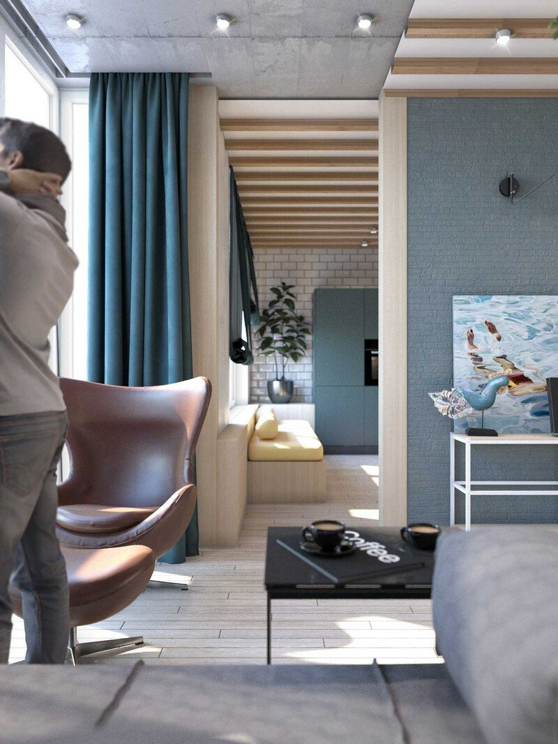 Contemporary Eco-Design by Cult of Design Apartment in Kyiv (4)