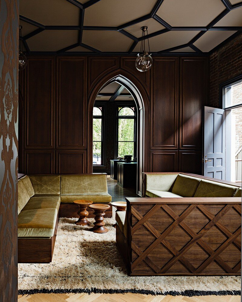 Gothic Office in an 1870s Historic Gothic Revival Building (10)
