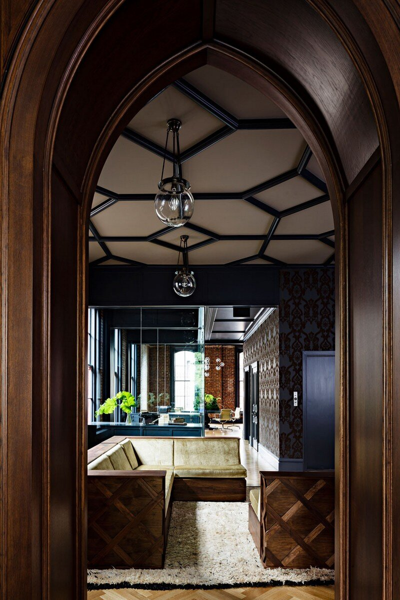 Gothic Office in an 1870s Historic Gothic Revival Building (4)