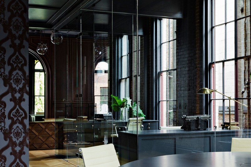 Gothic Office in an 1870s Historic Gothic Revival Building (6)