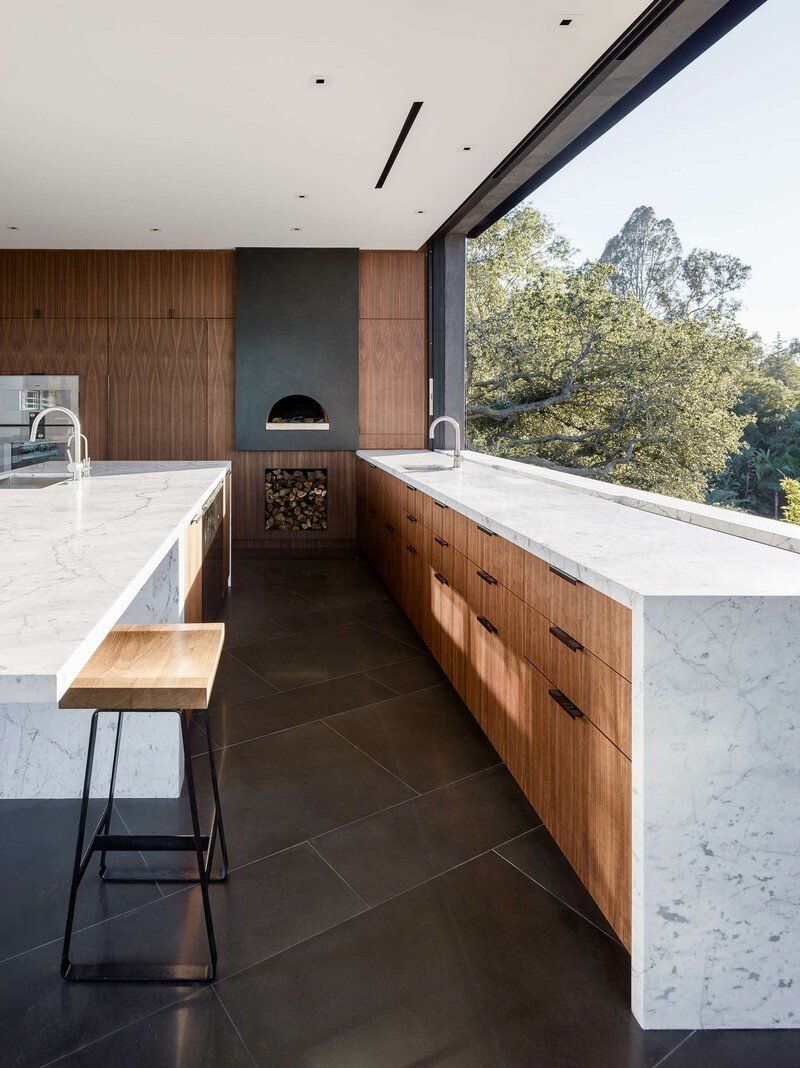 Oak Pass House with Panoramic Canyon Views / Walker Workshop 4