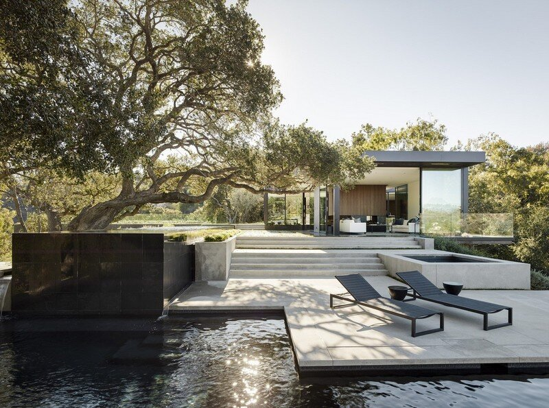 Oak Pass House with Panoramic Canyon Views / Walker Workshop 13