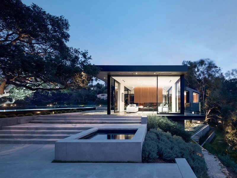 Oak Pass House with Panoramic Canyon Views / Walker Workshop 19