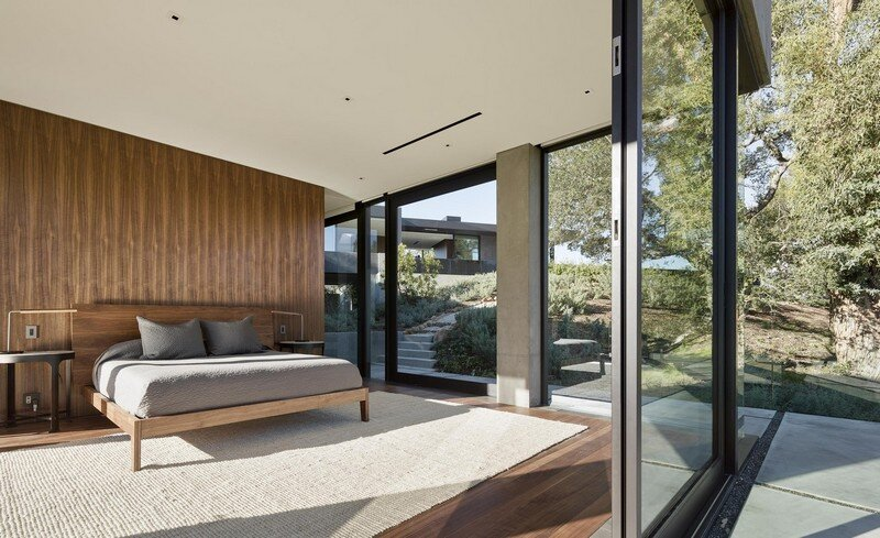 Oak Pass House with Panoramic Canyon Views / Walker Workshop 7