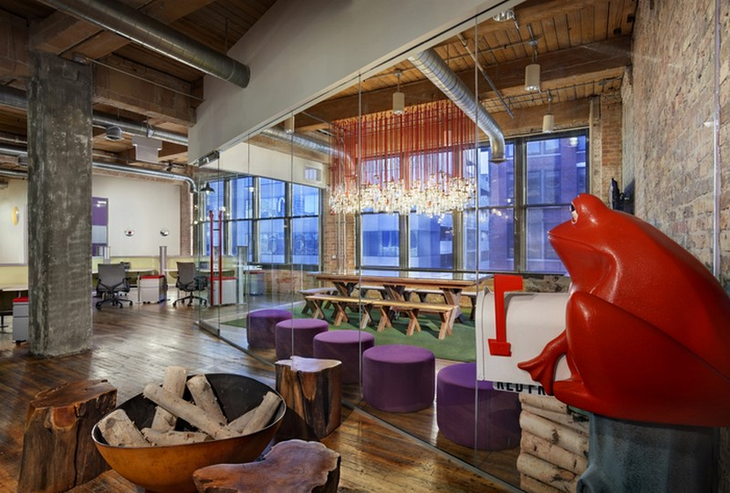 Red Frog Events Offices by Nelson Chicago