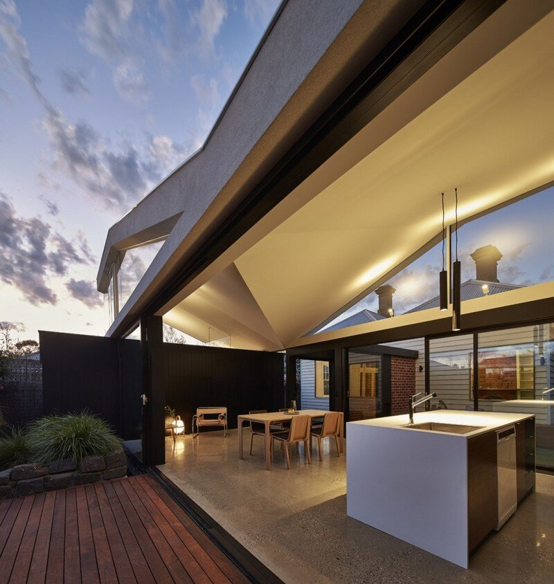 Tunnel House - Addition to an Existing Double Fronted Dwelling (10)