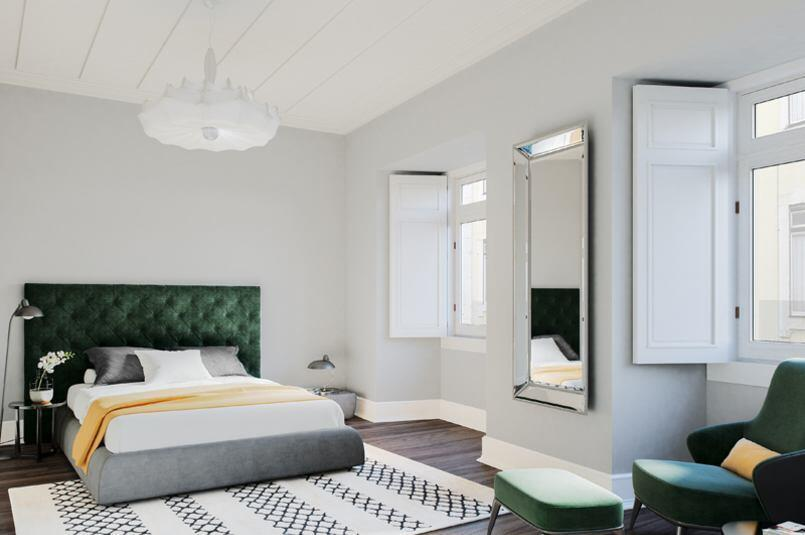 Architectural Rendering of Apartments in Lisbon Berga and González Architects (4)