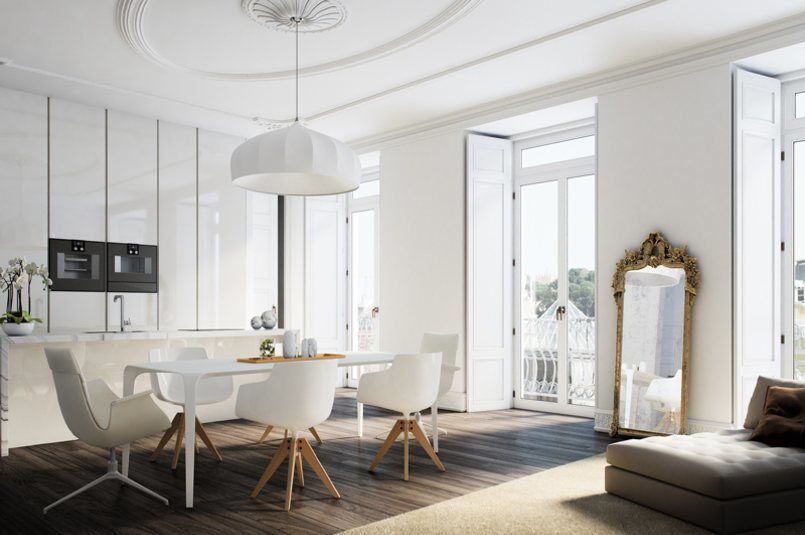Architectural Rendering of Apartments in Lisbon Berga and González Architects (5)