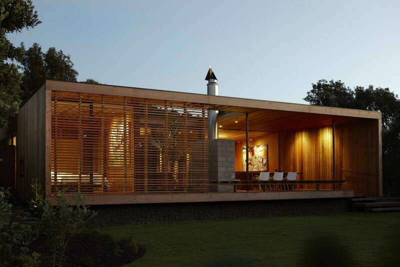 Bethells Bach - Two-Bedroom Bach at the Beach by Herbst Architects (2)