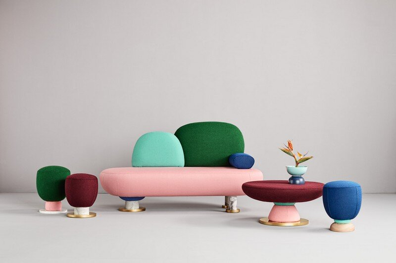 Colorful Toadstool Collection by Masquespacio (1)
