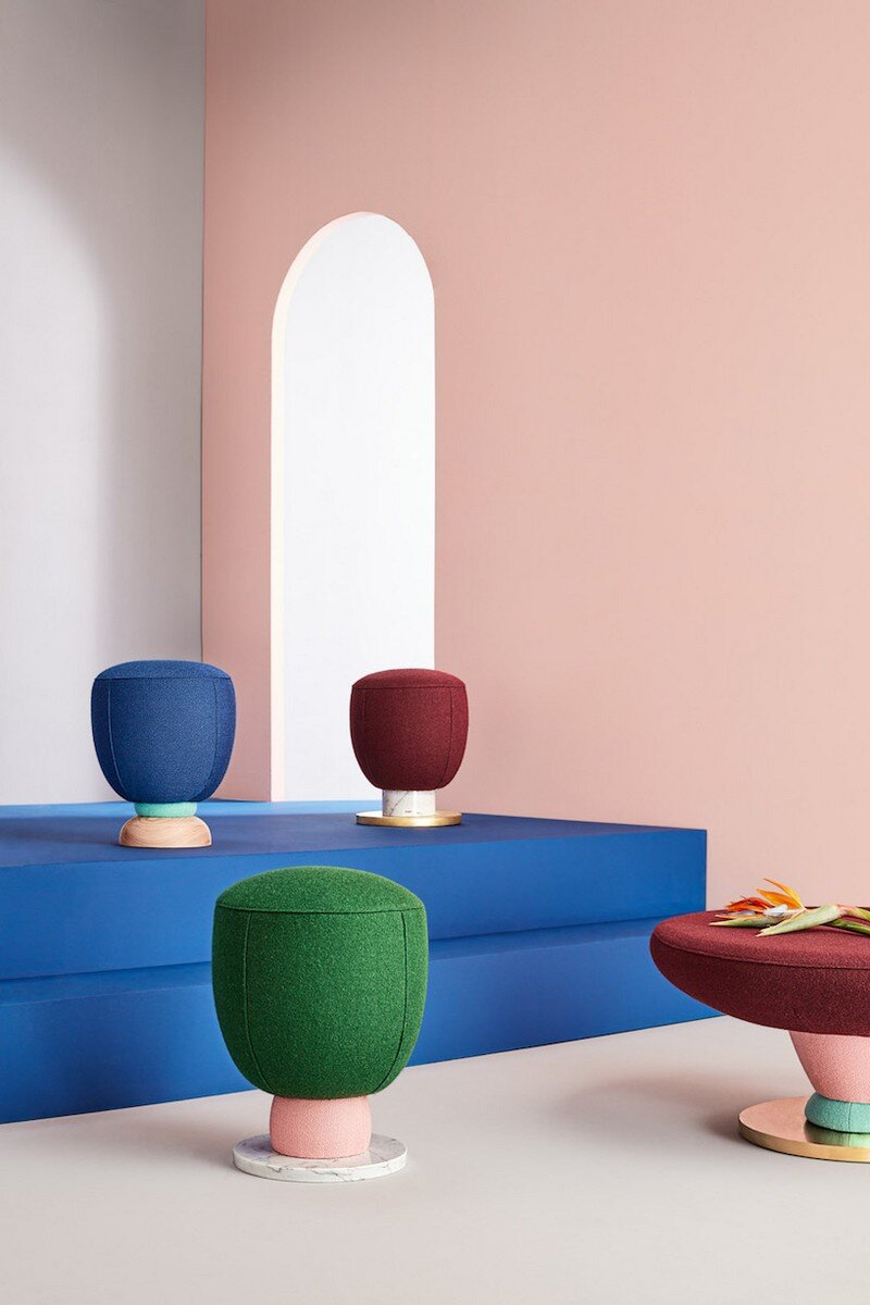 Colorful Toadstool Collection by Masquespacio (3)