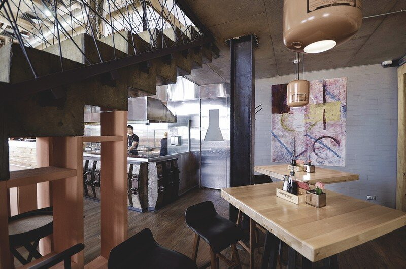 Gastroport Restaurant Designed with a Significant Industrial Footprint by Allartsdesign (20)