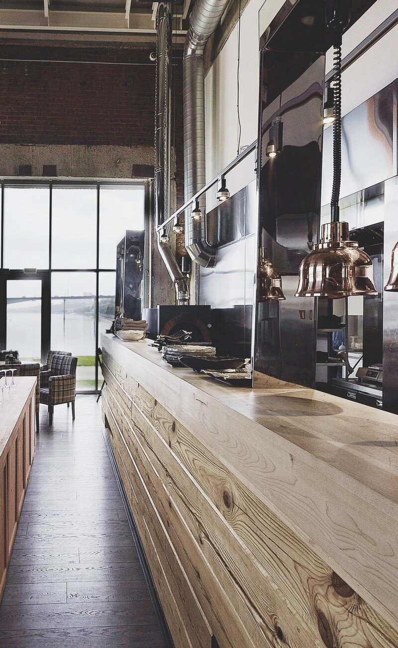 Gastroport Restaurant Designed with a Significant Industrial Footprint by Allartsdesign (3)