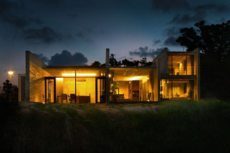 House with Panoramic Ocean View in Okinawa CLAIR Archi Lab (12)