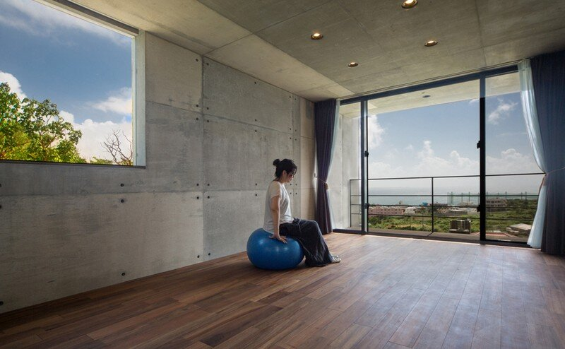 House with Panoramic Ocean View in Okinawa CLAIR Archi Lab (16)