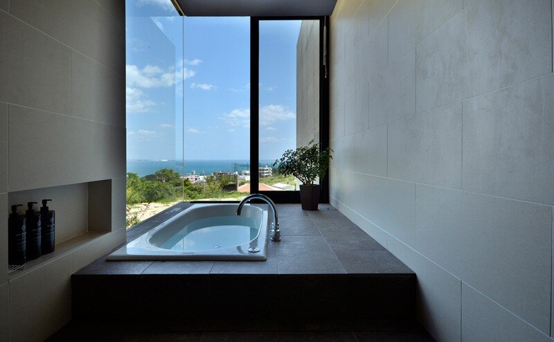 House with Panoramic Ocean View in Okinawa CLAIR Archi Lab (17)