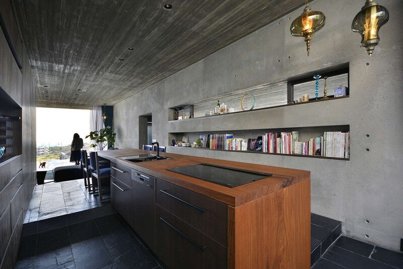 House with Panoramic Ocean View in Okinawa CLAIR Archi Lab (2)