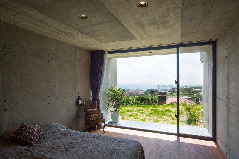 House with Panoramic Ocean View in Okinawa CLAIR Archi Lab (3)