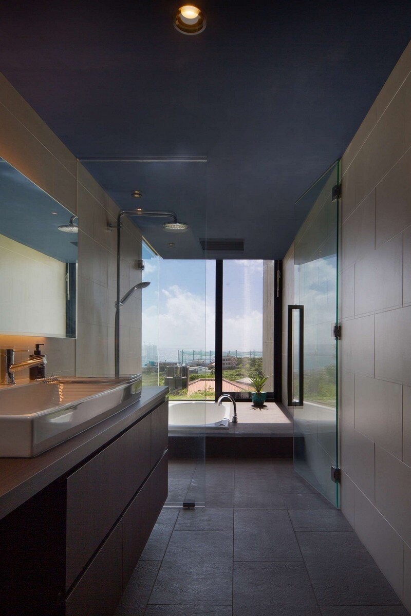House with Panoramic Ocean View in Okinawa CLAIR Archi Lab (7)
