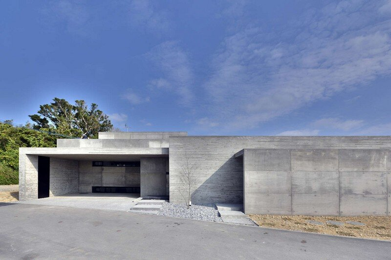 House with Panoramic Ocean View in Okinawa CLAIR Archi Lab (8)