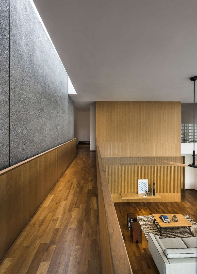 Semi-Detached Home in Singapore by Materium (10)